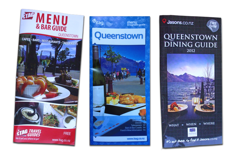 Dining Guide covers featuring photos by Jo Weir